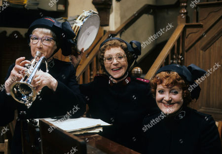 Rosamund Greenwood as Sister Dorothy Smith, Thora Hird as Captain Emily Ridley and Patsy Rowlands as Sister Alice Meredith