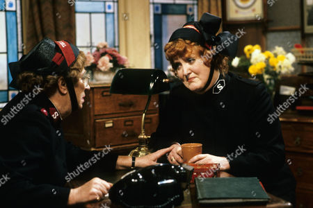 Thora Hird as Captain Emily Ridley and Patsy Rowlands as Sister Alice Meredith.