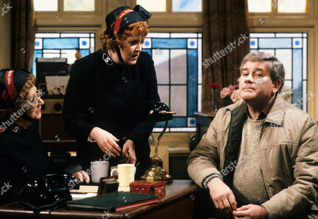 Thora Hird as Captain Emily Ridley, Brian Rawlinson as Matthew and Patsy Rowlands as Sister Alice Meredith.