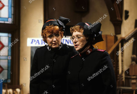 Patsy Rowlands as Sister Alice Meredith and Thora Hird as Captain Emily Ridley.