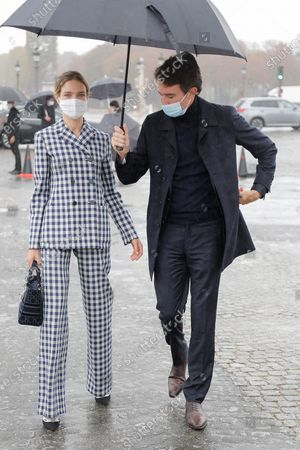 Natalia Vodianova and her husband Antoine Arnault