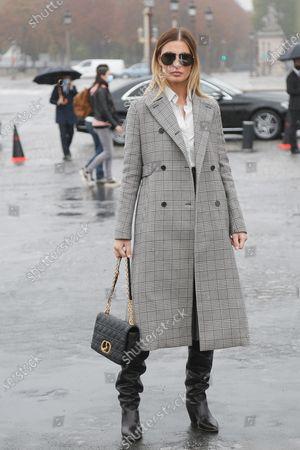 Editorial photo of Dior show, Arrivals, Spring Summer 2021, Paris Fashion Week, France - 29 Sep 2020