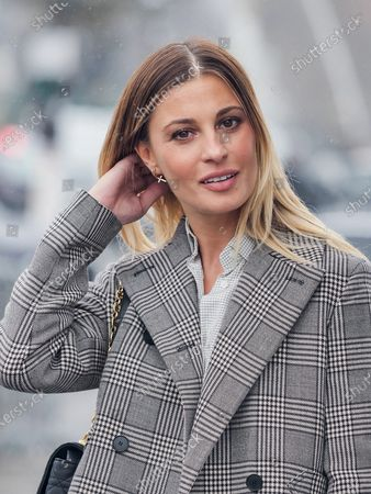 Stock Image of Sveva Alviti attends the Dior Womenswear Spring/Summer 2021 show