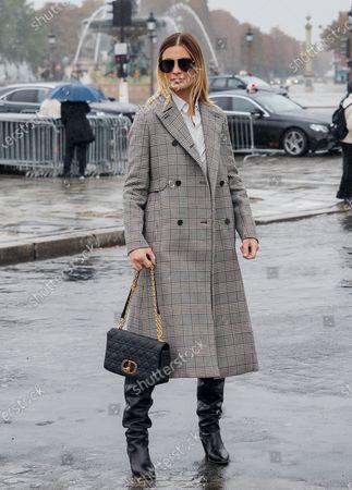 Editorial image of Dior show, Arrivals, Spring Summer 2021, Paris Fashion Week, France - 29 Sep 2020