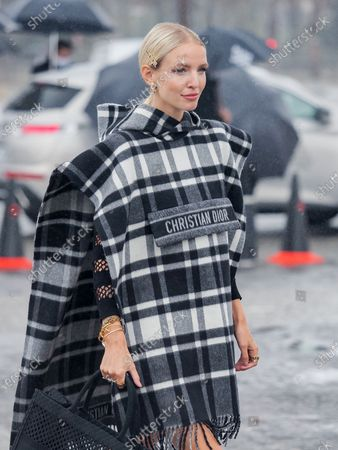 Leonie Hanne attends the Dior Womenswear Spring/Summer 2021 show