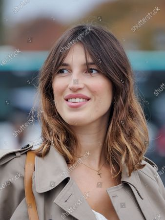 Jeanne Damas attends the Dior Womenswear Spring/Summer 2021 show
