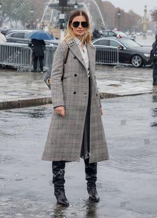 Sveva Alviti attends the Dior Womenswear Spring/Summer 2021 show