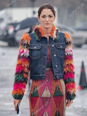 Sofia Sanchez de Betak attends the Dior Womenswear Spring/Summer 2021 show