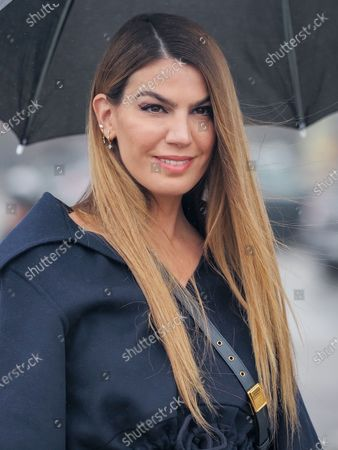 Bianca Brandolini D'Adda attends the Dior Womenswear Spring/Summer 2021 show