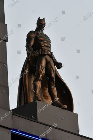 Editorial photo of New Harry Potter Quidditch Statue, London, UK - 30 Sep 2020