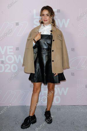 Editorial image of Etam show, Arrivals, Spring Summer 2021, Paris Fashion Week, France - 29 Sep 2020