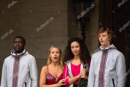 Terique Jarrett as Isaac Portier, Jessica Lord as Lena Grisky, Eubha Akilade as Ines Lebreton and Castle Rock as Jeff Chase