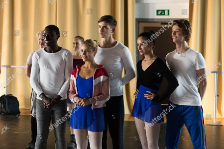 Terique Jarrett as Isaac Portier, Jessica Lord as Lena Grisky, Jake Swift as Nico, Eubha Akilade as Ines Lebreton and Castle Rock as Jeff Chase