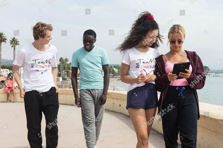 Castle Rock as Jeff Chase, Terique Jarrett as Isaac Portier, Eubha Akilade as Ines Lebreton and Jessica Lord as Lena Grisky