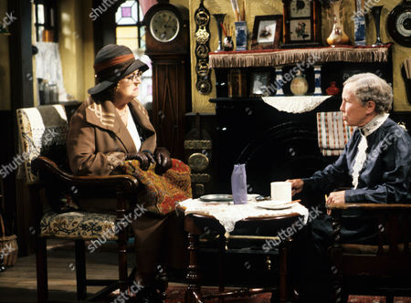 Episode 3 - 'Blood Will Out' - Thora Hird and Gretchen Franklin.