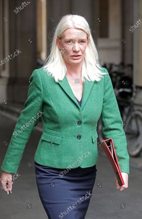 Stock Picture of Amanda Milling, Minister without Portfolio