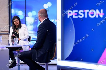 Editorial picture of 'Peston' TV show, Series 6, Episode 30, London, UK - 30 Sep 2020