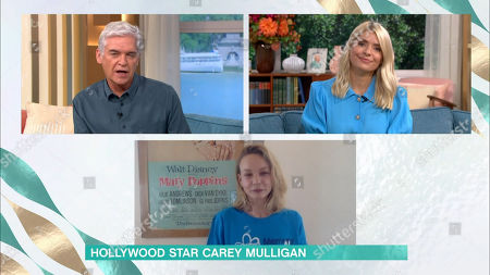 Phillip Schofield, Holly Willoughby, Carey Mulligan
