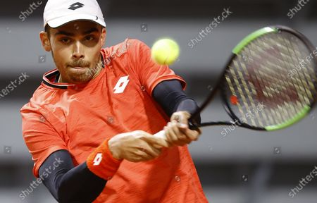 Editorial image of French Open tennis tournament at Roland Garros, Paris, France - 30 Sep 2020