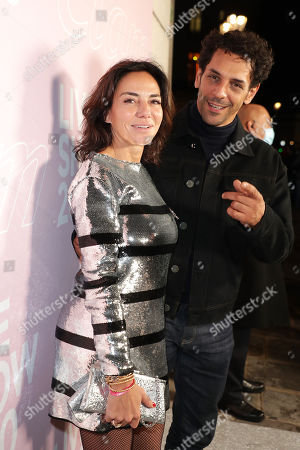 Stock Picture of Tomer Sisley and Sandra Zeitoun De Matteis
