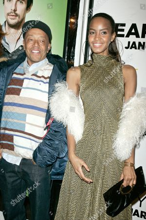 Stock Image of Russell Simmons and Georgianna Robertson