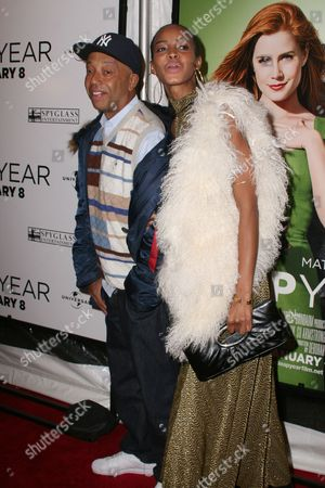 Russell Simmons and Georgianna Robertson