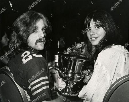 Glenn Frey and Linda Ronstadt