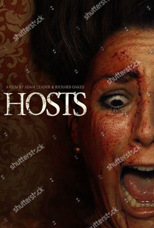 Stock Photo of Hosts (2020) Poster Art. Samantha Loxley as Lucy