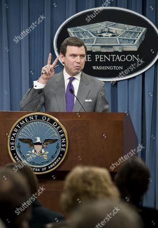Editorial image of Pentagon Press Secretary at the Pentagon, Washington DC, America - 06 Jan 2010