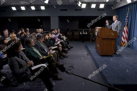 Stock Photo of Pentagon Press Secretary Geoff Morrell