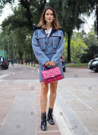 Editorial photo of Sportmax Street Fashion Show II, Milano, Italy - 25 Sep 2020
