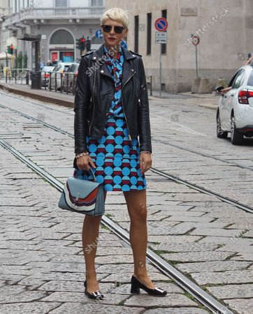 Editorial picture of Vìen street style outfits, Milano, Italy/Milan, Italy - 24 Sep 2020
