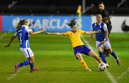 Editorial picture of Birmingham City Women v Everton Women, Vitality Women's FA Cup Semi-final, Football, SportNation.bet Stadium, Solihull, UK - 30 Sep 2020