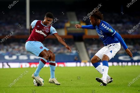 Editorial picture of Everton v West Ham United, EFL Carabao Cup Fourth Round, Football, Goodison Park, Liverpool, UK - 30 Sep 2020