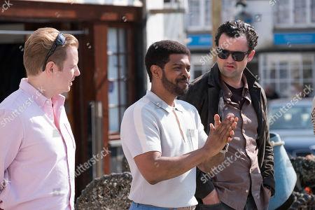 Christian Brassington as Henry, Noel Clarke as Troy and Daniel Mays as Danny