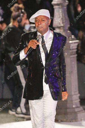Editorial photo of Etam live show, Runway, Spring Summer 2021, Paris Fashion Week, France - 29 Sep 2020