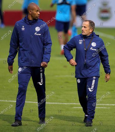Editorial photo of New FC Schalke 04 head coach Manuel Baum, Gelsenkirchen, Germany - 30 Sep 2020