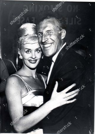 Stock Picture of Pkt2817 - 192944 Comedian Bruce Forsyth Bruce Forsyth And Angela Bracewell.