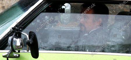 Stock Image of Richard Hammond arrives