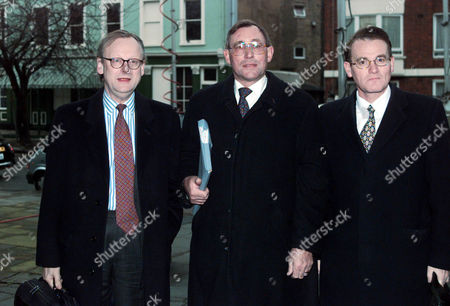 John Gummer Arrives At The Bse Inquiry With David Curry (centre) And David Maclean Today