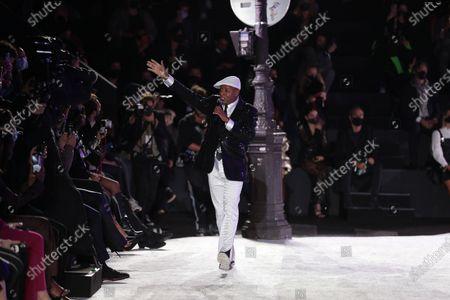 Editorial picture of Etam show, Runway, Spring Summer 2021, Paris Fashion Week, France - 29 Sep 2020