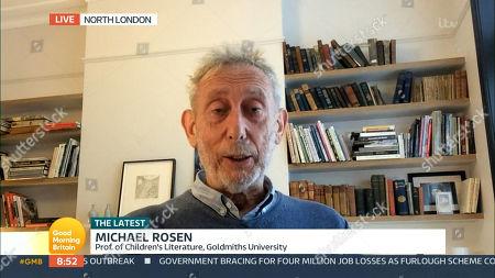 Editorial image of 'Good Morning Britain' TV Show, London, UK - 01 Oct 2020
