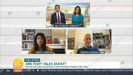 Editorial image of 'Good Morning Britain' TV Show, London, UK - 01 Oct 2020