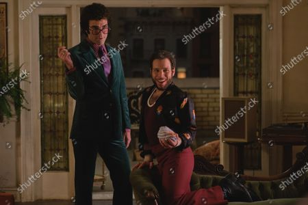 Stock Photo of Zachary Quinto as Harold and Robin De Jesus as Emory