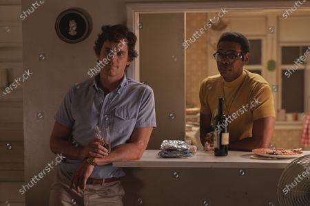 Stock Image of Matt Bomer as Donald and Michael Benjamin Washington as Bernard