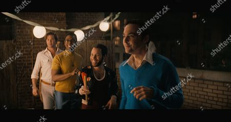 Andrew Rannells as Larry, Michael Benjamin Washington as Bernard, Robin De Jesus as Emory and Jim Parsons as Michael