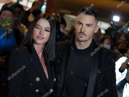 Editorial picture of Balmain show, Arrivals, Spring Summer 2021, Paris Fashion Week, France - 30 Sep 2020