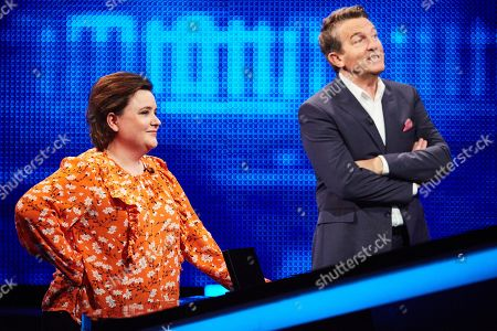 Susan Calman and Bradley Walsh
