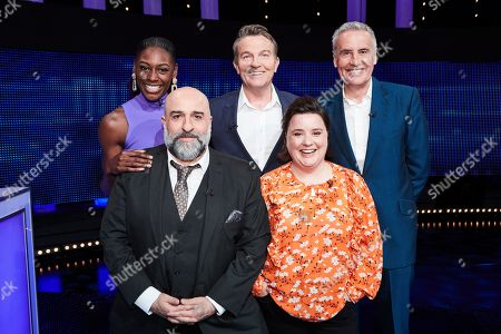 (L-R top row) Perri Shakes-Drayton, Bradley Walsh, Dermot Murnaghan, (L-R bottom row) Omid Djalili and Susan Calman