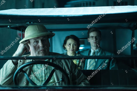 Colm Meaney as Major Archer, Elizabeth Tan as Vera Chang and Luke Treadaway as Matthew Webb.